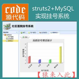 jsp+struts2+jdbc+mysql实现简单的在线预约挂号管理系统源码附带视频运行教程