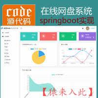 springboot+freemark+jpa+mysql实现的在线网盘文件分享系统源码附带运行教程