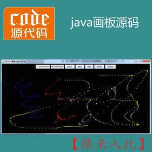 java swing模拟实现简单的写字板画板功能项目源码附带视频指导运行教程