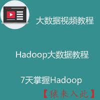 hadoop大数据视频开发教程之教你7天快速掌握Hadoop